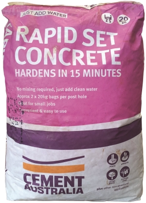 Rapid Set Concrete 20KG