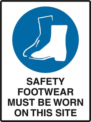 Safety Footwear Must Be on this Site