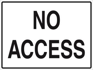 No Access - Metal