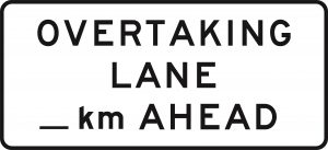 Overtaking Lane - km Ahead - 2600 x 1200