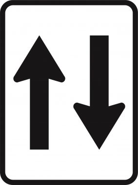 2 Way Directional Sign