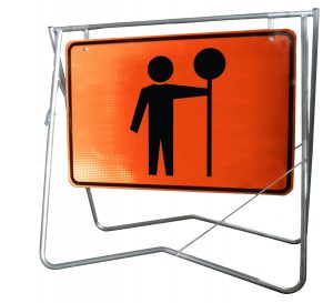 Traffic Controller - 900x600 - Swing Stand