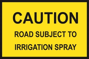 Caution Irrigation Spray (Cl1) 900 x 600 BEP