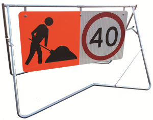 Swing Stand Signage